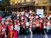 """145 деца от Плевен участват в Националната програма """"Научи се да караш ски"""""""