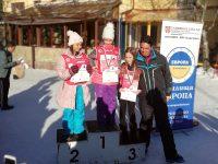"""Ученици от НУ """"Христо Ботев"""" – Плевен с медали от състезание по ски"""