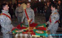 """Осветиха бойното знаме на ВВВУ """"Георги Бенковски"""" /фотогалерия от ритуала/"""