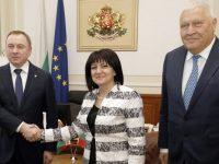 Плевенският депутат Васил Антонов участва в среща с министъра на външните работи на Беларус