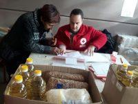 БЧК започна раздаването на хранителни продукти на уязвимиграждани в град Плевен