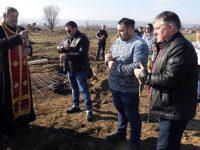 Започна строителството на голяма складова база за пресни зеленчуци в село Брест