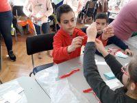 """Ученици на НУ """"Патриарх Евтимий"""" – Плевен участваха в Работилницата на Баба Марта"""