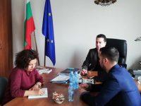 Общински съветници от ГЕРБ-Плевен се срещнаха със зам.-министър на младежта и спорта