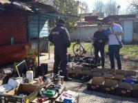 Общинските инспектори проведоха съвместна акция в Плевен със служители на МВР