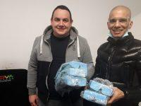 Варненец дари предпазни маски и очила на Община Пордим