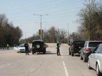 Дезинфекцират КПП край Плевен заради COVID – 19