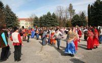 Българския обичай Сирни Заговезни и руския Масленица празнувахме заедно за втори път тази година в Плевен