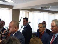 Президентът Румен Радев с висока оценка на мерките срещу коронавируса в Плевен