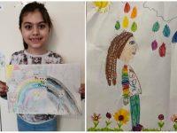 """Ученици от СУ """"Крум Попов"""" – Левски рисуват с надежда за по-добро бъдеще"""