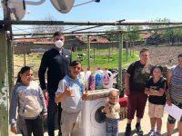7-членно семейство от Каменец получи най-желания подарък – пералня