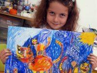 """Три медала за малки художници наАртшкола """"Колорит"""" – Плевен от национален конкурс"""