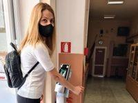 """В НУ """"Христо Ботев"""" – Плевен монтираха терминал за лицево разпознаване и измерване на телесна температура"""