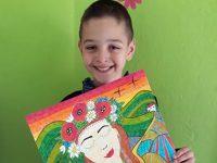 """Малък художник от Артшкола """"Колорит"""" с награда от международен конкурс, посветен на щъркелите"""