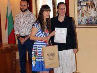 Седмокласничка от Плевен спечели конкурс за авторско стихотворение за Трявна