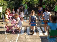 """Децата от ДГ """"Гергана"""" – Плевен показаха, че добре познават правилата за пътна безопасност"""