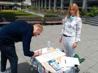 В Плевен днес се провежда подписка за по-строги наказания за пияни и дрогирани шофьори