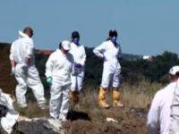 Между 30 и 40 тона отпадъци са заровени в района на бивше ТКЗС край Червен бряг