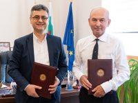 МУ-Плевен подписа договор за сътрудничество с Езиковата гимназия