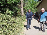 """Областният управител провери за нарушения при извършването на санитарна сеч в """"Кайлъка"""""""