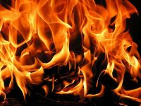 Къща горя в Горник