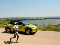 По около 100 км на ден изминава по маршрута Дунав Ултра топ атлетът Владимир Ставрев