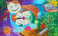 """Ярко представяне на деца от Артшкола """"Колорит""""- Плевен в онлайн конкурс за рисунка"""