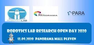 Днес Панорама мол и RoboticsLab – Pleven ви очакват на едно истинско робо събитие