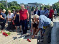 Плевенските социалисти отбелязаха 76 години от 9-ти септември