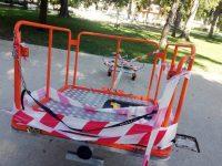 Окрадоха люлката за деца със специални нужди в Плевен