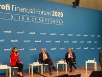 Облачните технологии във финансовия сектор и изкуствения интелект коментира Цветелина Пенкова на EUROFI в Берлин