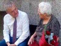 Лидерът на АБВ Румен Петков поздрави своята учителка по повод първия учебен ден