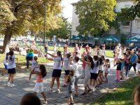 Пъстър спортен празник събра над 200 деца в Градската градина в Плевен