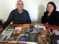 Журналистът Малин Решовски направи дарение на плевенската Библиотека