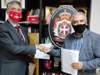 Община Пордим подписа договор за сътрудничество и взаимопомощ с рицарски орден