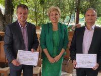 Училищни директори и учители от област Плевен с номинации за национален конкурс