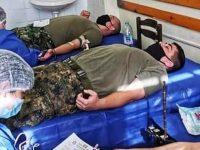 Плевенски военнослужещи дариха кръв, помагайки на екипите на ВМА