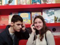 Ученици от Езикова гимназия – Плевен се включиха в Националната седмица на четенето