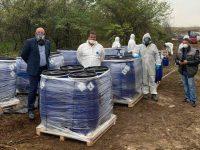 Теч на вода е открит в склад със загробени пестициди край град Искър
