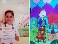 """6-годишна художничка от ДГ """"Слънце"""" – Плевен с медал от национален конкурс"""