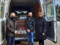 Община Пордим получи дарение от Националното сдружение на сираците в България