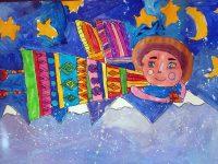 """Малки художници от Артшкола """"Колорит"""" – Плевен с отличия от международен конкурс, посветен на Рождество"""