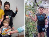 Коледни усмивки за всички деца в село Малчика
