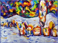 Рисунка на талантливо плевенско дете стана коледна картичка на Общинския съвет