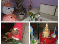"""Читалището в село Победа подарява празнично настроение с виртуалната изложба """"Моя бяла Коледа"""""""
