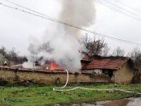 В Българене започва кампания за семейството, чиято къща изгоря преди Коледа