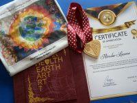 """Златен медал от Иран за Мирослав Лазаров от Aртшкола """"Колорит"""" – Плевен"""