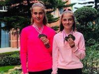 Две плевенчанки на върха в ранглистата на Тенис Европа до 14 години