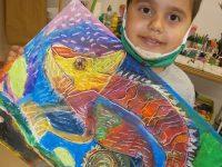"""Мирослав Лазаров от арт школа """"Колорит"""" е  на върха в класацията на световен конкурс за рисунка в Япония"""