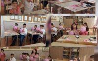 """Розови балони и сърца срещу тормоза в училищев СУ """"Анастасия Димитрова"""" -Плевен"""